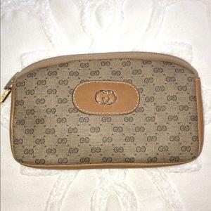 Authentic Vintage Gucci Zipper Pouch